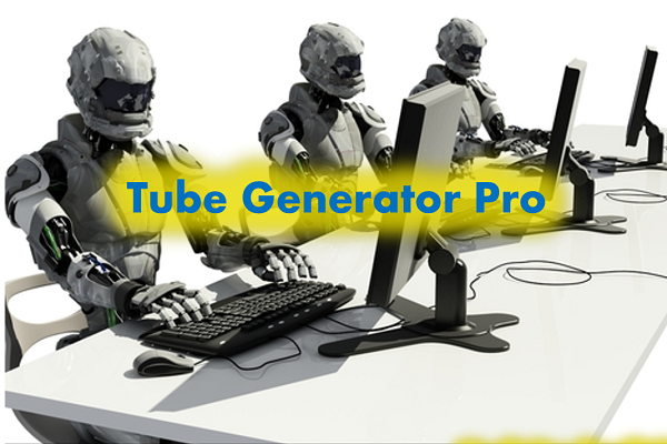 Tools otomatis pembuat video youtube Tube Generator Pro