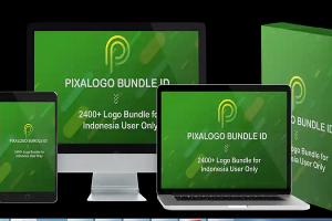 template pembuat logo bundle