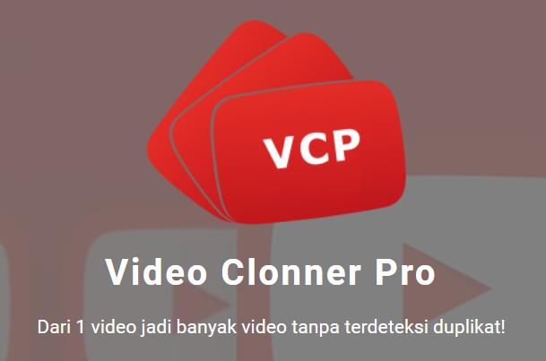 Tools otomatis pembuat banyak video video cloner Pro