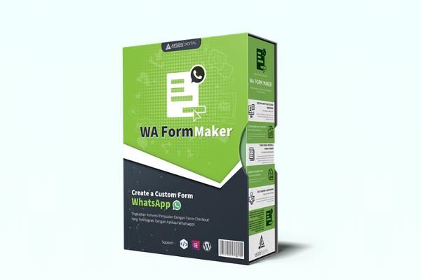 plugin untuk membuat form checkout whatsapp - waformmaker