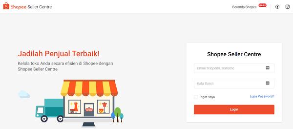 cara menaikkan produk di shopee